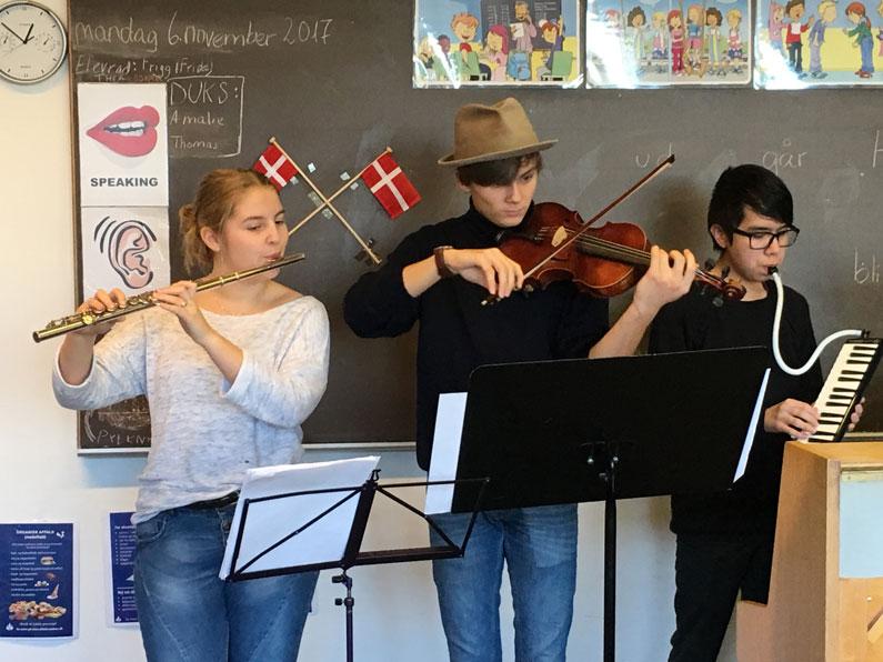 Koncert med Klejtrup Musikefterskole
