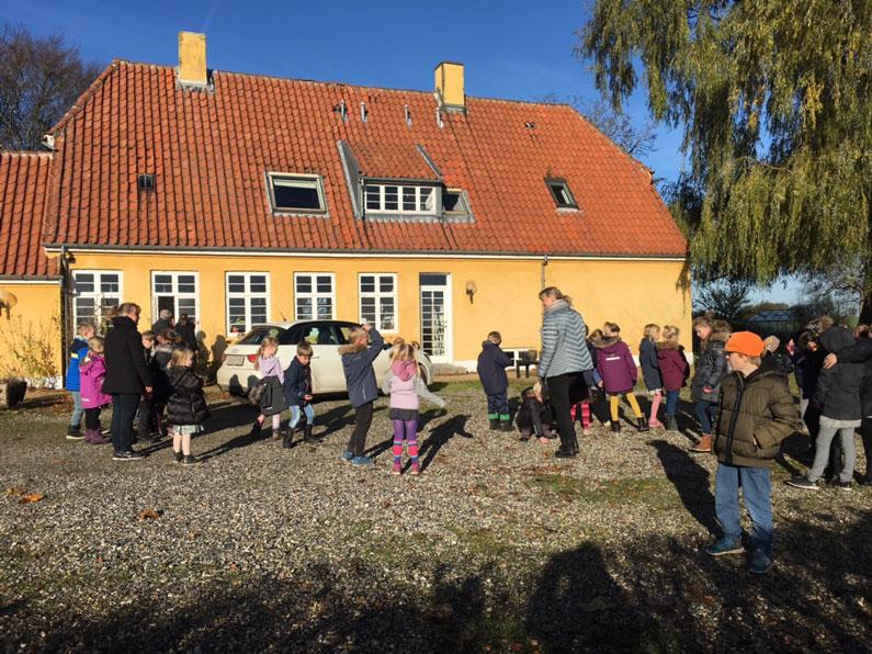 Gamle dage i Sønderbæk